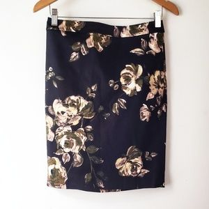 J.Crew Perfect Pencil Skirt NWT in Midnight Floral